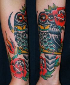 Miss Arianna Traditional Custom Tattooing