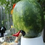 Genius Watermelon Keg Idea