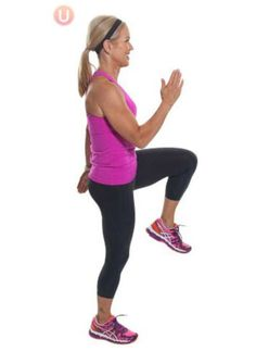 The Workout That Burns Belly Fat: High Knee Run