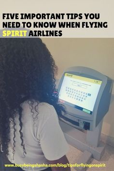 Are you flying on Spirit Airlines? This post is giving you the details on what you need to know about flying on Spirit Airlines. Check out these five top tips that will help you fly Spirit like a boss.