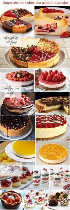 O cheesecake é uma sobremesa cuja base de queijo combina com qualquer cobertura. Experimente essa receita tradicional e deliciosa!