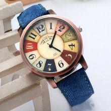 Súper ventas mujeres del reloj 2016 nuevo estilo moda Casual Watch Unisex mujer…