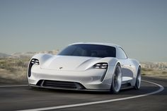Porsche Takes Aim at Tesla With a Stunning Electric Concept | WIRED