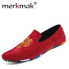 b6385063e9 Hot sale velvet loafers men shoes men s flats male slip on driving shoes  large size