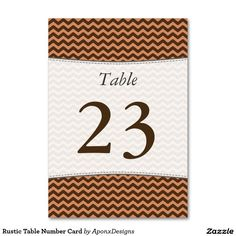 Find your table numbers on Zazzle. Rustic Table Numbers, Finding Yourself, Card Holder, How To Make, Cards, Nice, Design, Rolodex