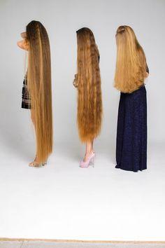 Long Hair Models, Golden Blonde Hair, Long Hair Play, Really Long Hair, Silk Hair, Playing With Hair, Beautiful Long Hair, Down Hairstyles, Rapunzel
