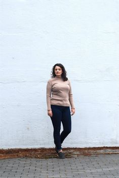 Simple and elegant thin sweater, with a short turtle neck, camel/beige color Size 12 Uk, Levi Shorts, Beige Color, The Girl Who, Perfect Fit, My Etsy Shop, Normcore, Turtle Neck