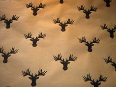 Stag Gift Wrap by TheOliveTreeAtelier on Etsy, £4.00