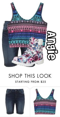 """""""Angie"""" by basic-disney ❤ liked on Polyvore featuring Silver Jeans Co. and Timberland"""