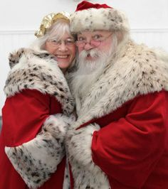 Mr and Mrs. Claus