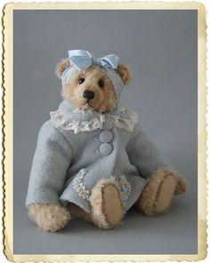 Bibi artist bear by Anna Hoo