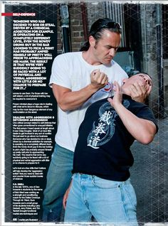 From Martial Arts Illustrated article in 2014.