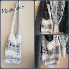 crocheted bag ideal for summer days :)