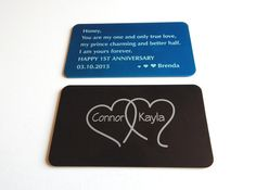 Rd wedding anniversary gift to my husband wallet insert gift