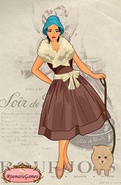 50's Dress - Pocahontas - #SommerTime #Disney #Princess