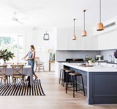 "425 Likes, 23 Comments - Homes To Love (@homestoloveau) on Instagram: ""Serial renovators Anna and Matt have triumphed with this New England-inspired home.  Take the tour…"""