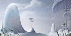 by Fabrice Ascione Landscape Background, Animation Background, Art Background, Matte Painting, Cgi, Landscape Concept, Photoshop, Environmental Design, Illustrations