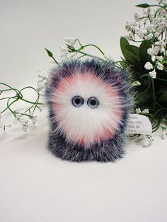 Mugley Thing Plush Furry Monster by coocoos on Etsy, $9.00