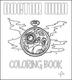 Doctor Who Coloring Book by ~Wolf-of-Malkuth on deviantART