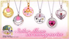 New Sailor Moon pendants coming announced on sailormoon.channel.or.jp 2013/07/17