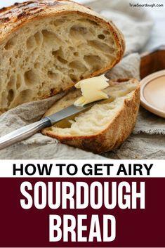 Artisan Sourdough Bread Recipe, Sourdough Bread Starter, Artisan Bread Recipes, Sourdough Recipes, Sourdough Bread Healthy, Low Carb Bread, Bread Baking, Yummy Food, Yummy Recipes