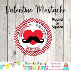 This listing is for favour tags/stickers in the CHEVRON MUSTACHE VALENTINE theme. This is a digital file that you print yourself and will be sent to you in PDF format. Valentine Theme, Perfect Party, Favor Tags, Mustache, All Design, Party Invitations, Party Supplies, Chevron, Favors