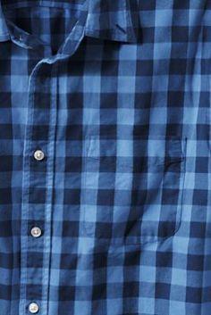 Men's Novelty Striped Oxford Shirt from Lands' End