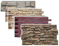 Ooooh!Faux stone for Accent Walls | Update Any Room with Decorative Wall Panels! So love it!