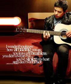 I believe this song is made specifically for Hakim the book. wonderful. Notice Me- David Archuleta...