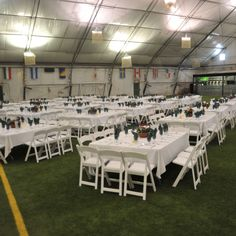 Large event at the Robbinsville Fieldhouse Sports and Expo Center
