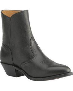 Boulet Men's Western Zipper Boots Cowboy Toe [1863]