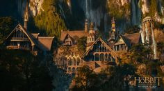 rivendell wallpaper hobbit | The Hobbit: An Unexpected Journey 17 HD Screenshots/Wallpapers - Movie ...