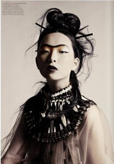 The monobrow is finally in?! sass and bide editorial - Google Search