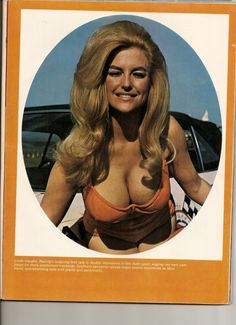 """Miss Hurst Golden Shifter,  Linda Vaughn """"Overwhelming fans with plenty and personality"""""""