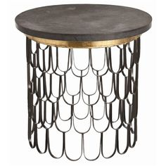 Iron / Marble End Table  #furniture #dreampin
