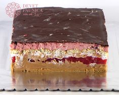 Posna Predjela, Posne Torte, Torte Recepti, Serbian Recipes, Torte Cake, Cake Cookies, Cake Recipes, Cheesecake, Food And Drink