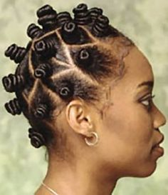 Tips for Perfecting a Bantu Knot Out: a great low manipulation style for length retention - Always do bantu knots on DRY hair! Dry hair that is well moisturized produces the best results. I never knew this!