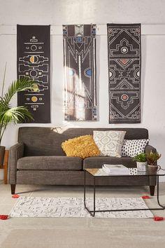4040 Locust Mutsa Triptych Tapestry