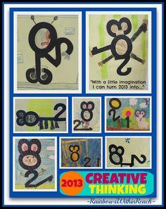 Fostering Creative Thinking via RainbowsWithinReach