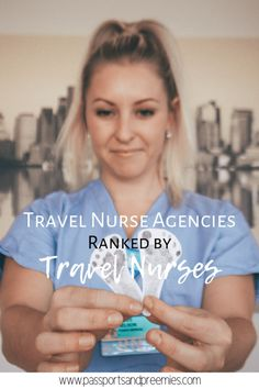 Travel Nursing Travel Nurse Agencies Ranked by Travel Nurses College Nursing, Nursing School Notes, Nursing Tips, Funny Nursing, Nursing Quotes, Nursing Memes, Nicu Nursing, Nursing Articles, Nursing Programs