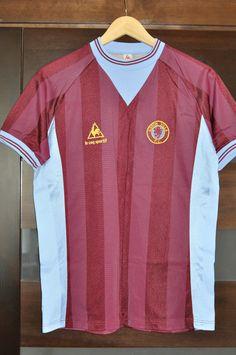 ASTON VILLA ENGLAND 1983/1984/1985 HOME FOOTBALL SHIRT JERSEY RARE VINTAGE in Sports Memorabilia, Football Shirts, English Clubs | eBay
