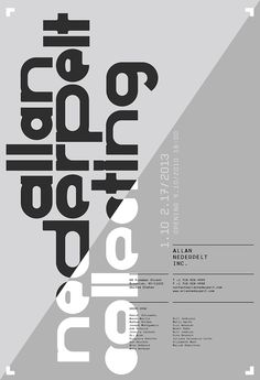 Allan Nederpelt - Collection of Shows Posters & Advertisements   meta.matic