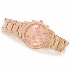 Invicta Womens Angel Quartz Stainless Steel Bracelet Watch w/ Travel Box