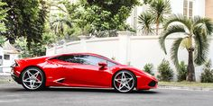 Cars Gallery | Lamborghini | Huracan | Red | Forgiato