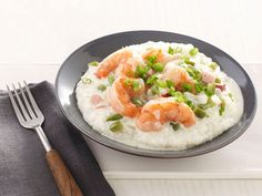 Charleston Shrimp and Grits Recipe : Bobby Deen : Food Network - FoodNetwork.com