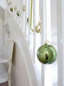 Stylish Settings: Christmas Staircase