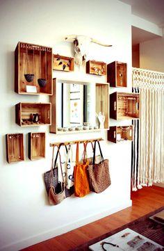 20+רעיונות+משגעים+לעיצוב+הבית+בעזרת+ארגזי+עץ