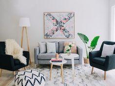 desain interior rumah tipe 70