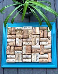 #winecorks #winecorkdecor #winecorkart #corkboard #winecorkboard #bulletinboard #homeorganization #winecorkjewelryholder #jewelrydisplay #picturedisplay #jewerlystorage #turquoisedecor #farmhousedecor #rusticdecor #upcycledgifts #upcycleddecor #upcycledart #upcycledliving #ecofriendlydecor #sustainablelifestyle #thewineingtwins Wine Cork Jewelry, Wine Cork Art, Wine Cork Holder, Recycled Wine Corks, Cork Boards, Champagne Corks, Hand Painted Wine Glasses, Hanging Jewelry, Gifts For Wine Lovers