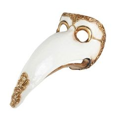 Plague Doctor Mask White II, $89, now featured on Fab.